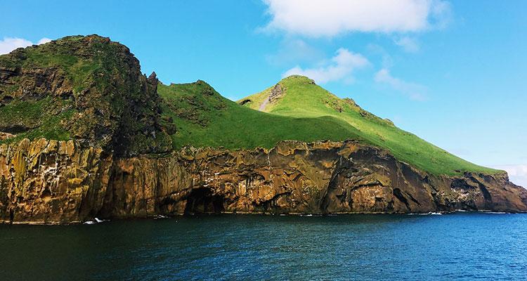 Storslået landskab i Island