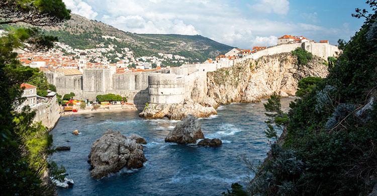 Ringmuren i Dubrovnik