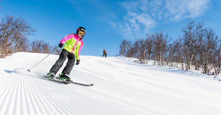 Fantastiske skiløjper i Skarslia