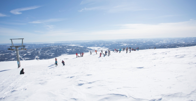 Skiløb på Norefjell